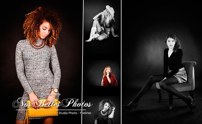 Photographe mode studio Poissy Yvelines, vous propose d'une idée cadeau, un coffret cadeau shooting photo de mode femme, photo book pour femme